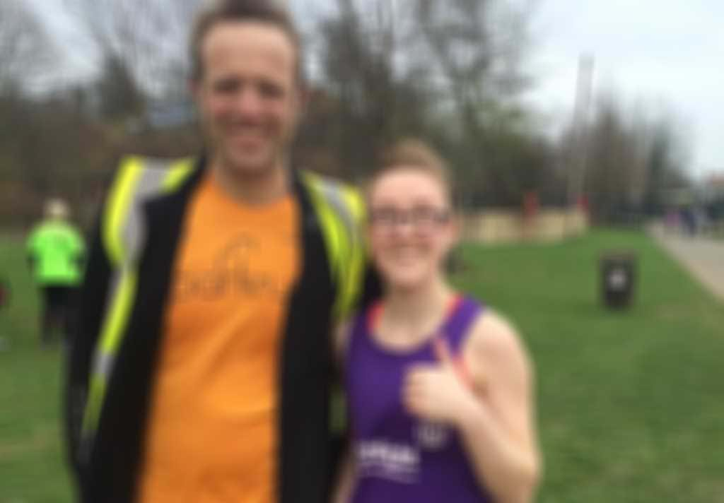 HRChloe and parkrun ED Anthony Lester.jpg blurred out
