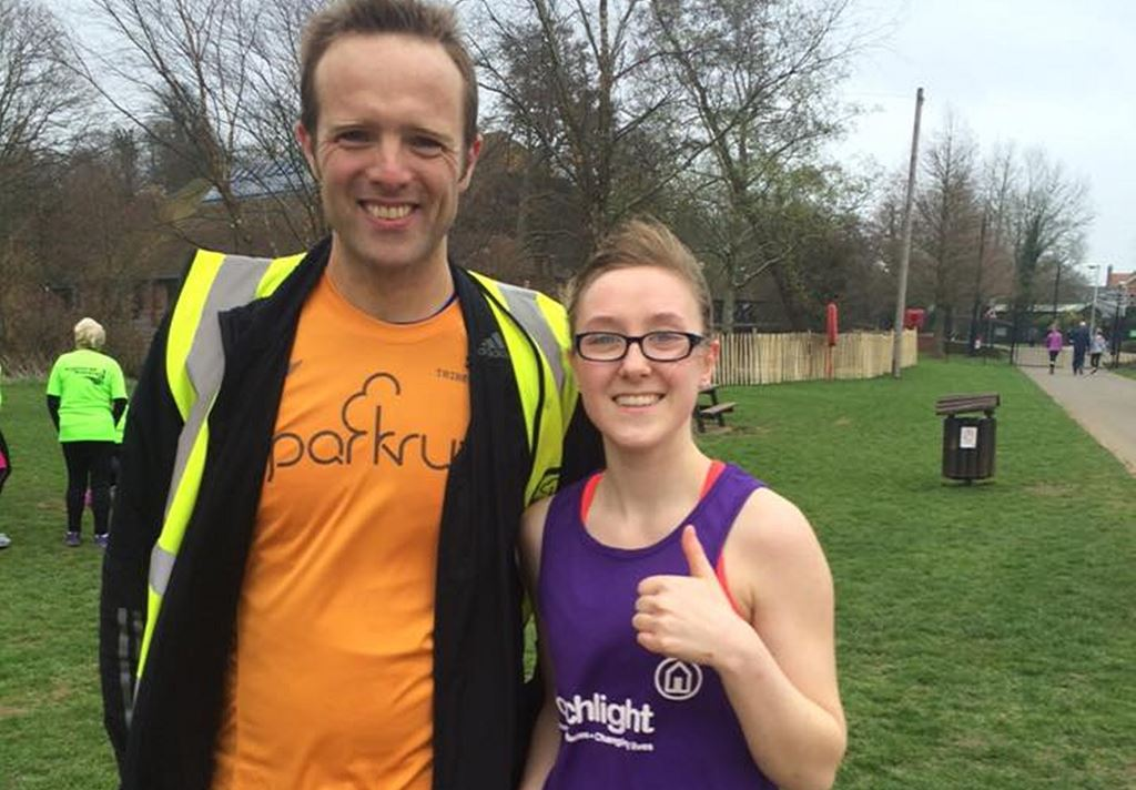 HRChloe and parkrun ED Anthony Lester.jpg